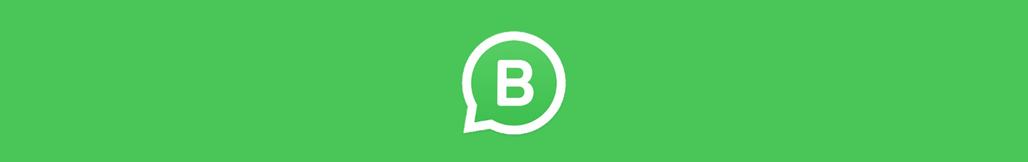 WhatsApp Business banner